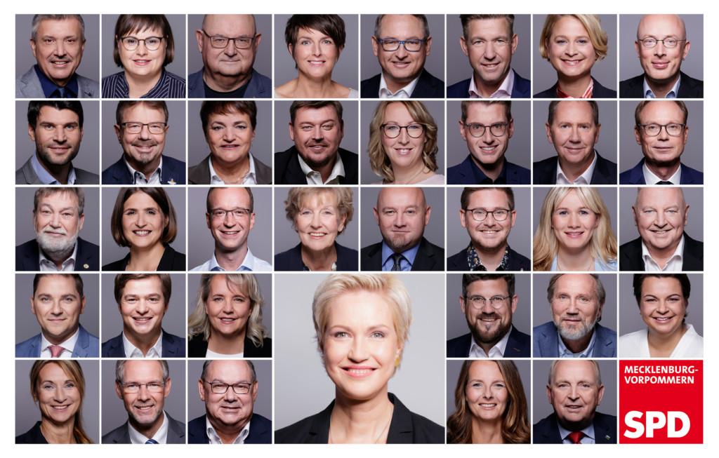 Landtagswahl 2021 SPD MV Team Kandidaten Kandidatinnen