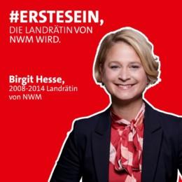 Erstesein Birgit Hesse