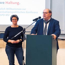 Monique Wölk und Thomas Würdisch