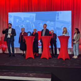 """Gesprächsrunde mit Sozialdemokrat*innen der ersten Stunde und ihren """"politischen Enkelinnen"""""""