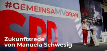 Zukunftsrede Manuela Schwesig
