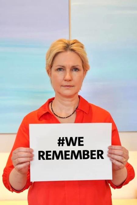 Holocaust Gedenken We Remember Manuela Schwesig SPD MV