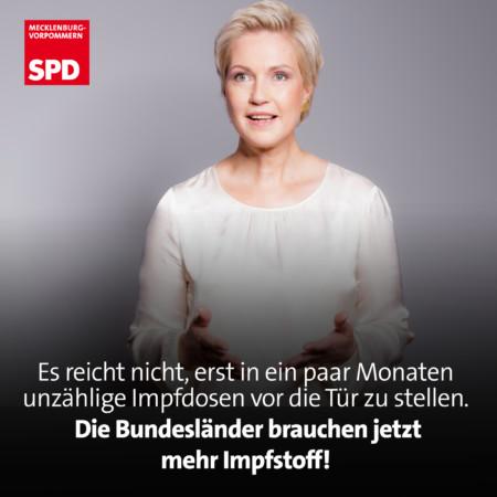 Impfstoff Bundesländer Manuela Schwesig