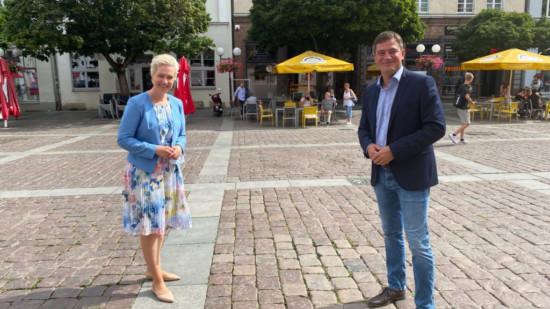 Güstrow Landrat Constien Schwesig Landkreis Rostock SPD MV