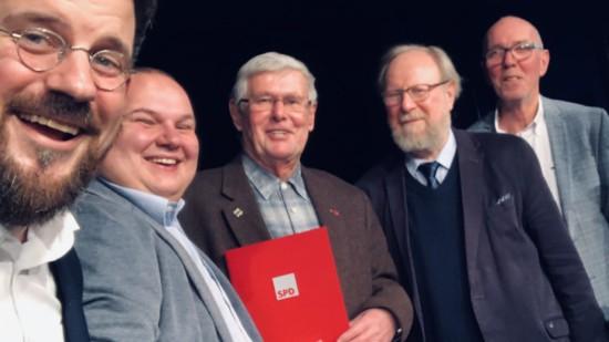 30 Jahre SPD in Anklam mit Wolfgang Thierse