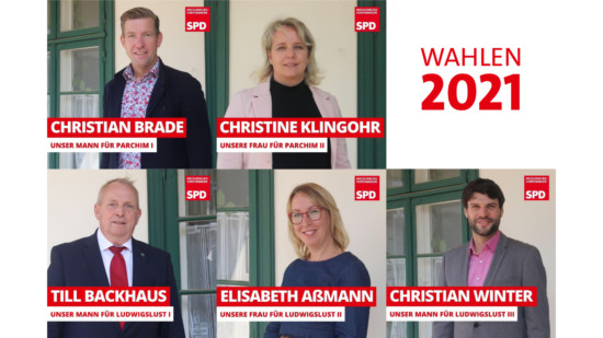Ludwigslust Parchim Landtagswahlen 2021 SPD MV