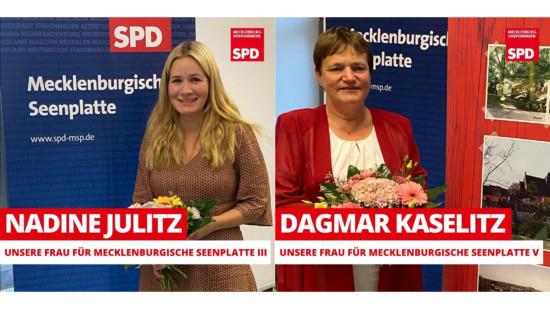 Nadine Julitz Dagmar Kaselitz Landtag SPD MV