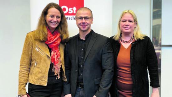 Für MV bei der Ostkonferenz: Bettina Martin, Frank Junge, Dr. Antje Draheim (v.l.)