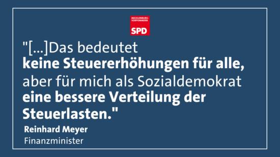 Reinhard Meyer Steuer- Verteilungsgerechtigkeit