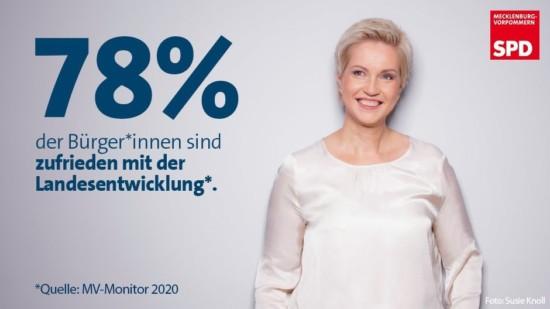 SPD Manuela Schwesig MV Monitor