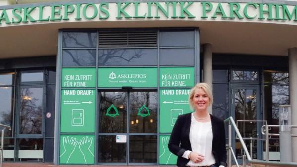 Jana Haak, Vorsitzende der SPD-Fraktion in der Parchimer Stadtvertretung