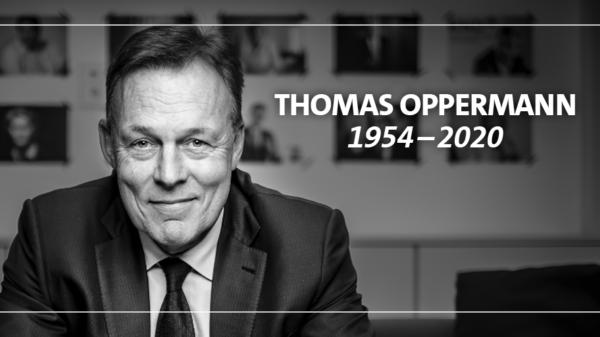 Thomas Oppermann, Bundestagsvizepräsident verstorben.