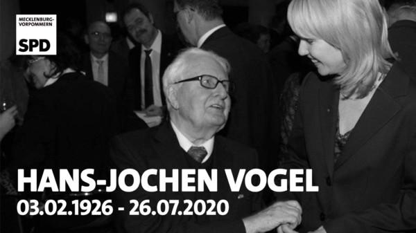 SPD MV Hans Jochen Vogel