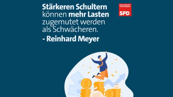 Stärkere Schultern – Reinhard Meyer, SPD