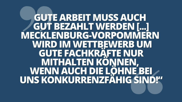 Vergabemindestlohn Zitat Manuela Schwesig
