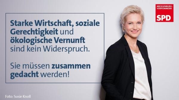 MV Zukunftsrat Manuela Schweisg Wirtschaft Gerechtigkeit Ökologie