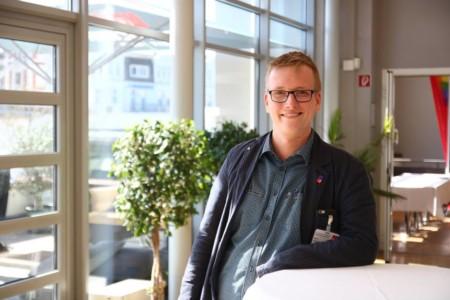 Bernd Woldtmann beim Landesparteivorstand 2019