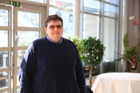 Christoph Biallas beim Landesparteivorstand 2019