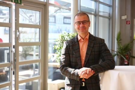 Frank Junge beim Landesparteivorstand 2019