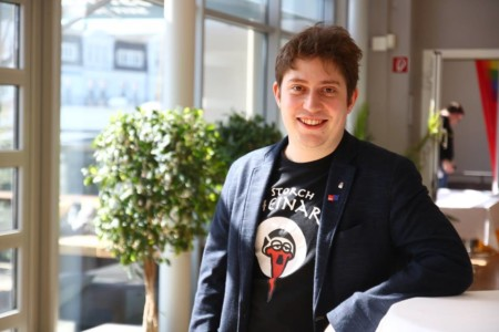 Johannes Barsch beim Landesparteivorstand 2019