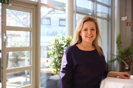 Katleen Bartels beim Landesparteivorstand 2019