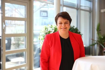 Stefanie Drese beim Landesparteivorstand 2019