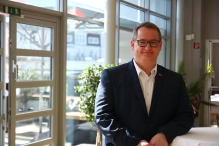 Tilo Gundlack beim Landesparteivorstand 2019