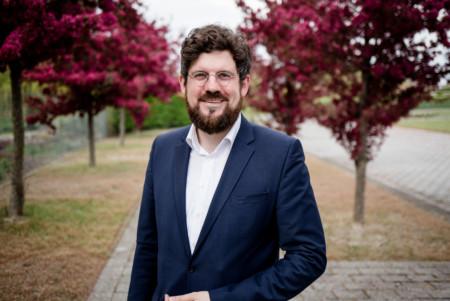 Julian Barlen am Rande des Landesparteitages 2017