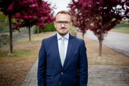 Stefan Sternberg am Rande des Landesparteitages 2017